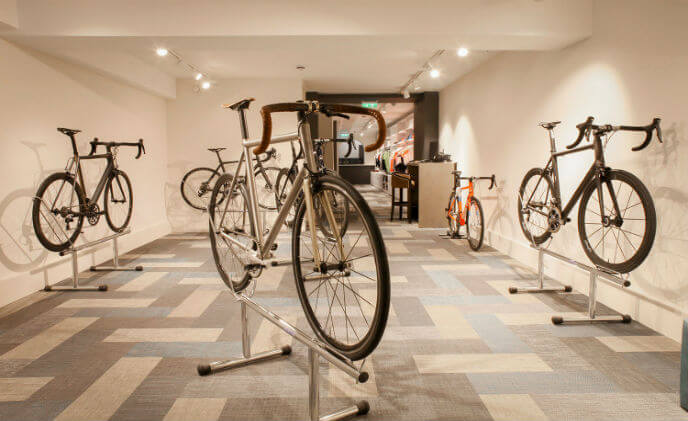 Amthal Fire & Security rides high with Bespoke Cycling