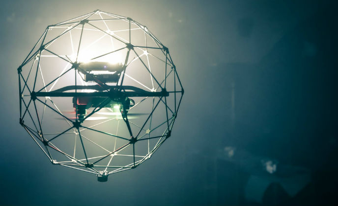 Collision-tolerant drone to operate in complex, cluttered environments