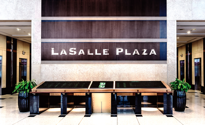 LaSalle Plaza installs Avigilon HD solution to monitor building traffic and ensure tenant safety