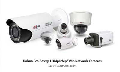 Dahua launches ecofriendly network camera series