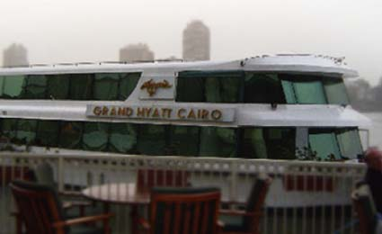 EverFocus surveillance deployed in Grand Hyatt Cairo cruise restaurant