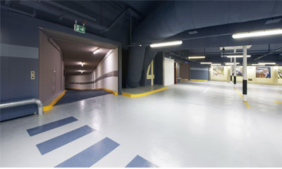 Geutebruck virtualised video system secures Zurich car parks