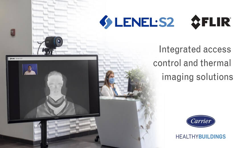 LenelS2 and FLIR Systems announce agreement to support safe workspaces