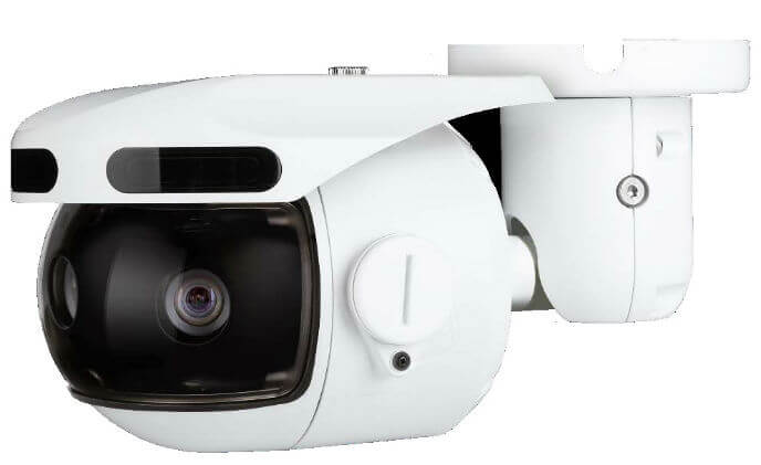 Digital Watchdog 6-MP three-sensor IP camera delivers 180° panoramic views at 20fps