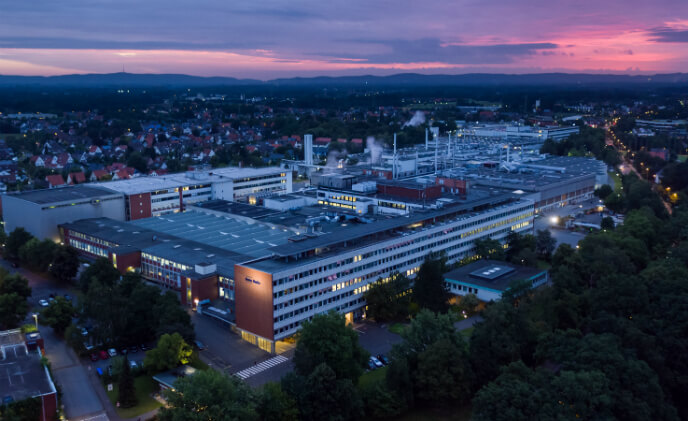 Bosch networked solutions implemented for the Mohn Media printing company