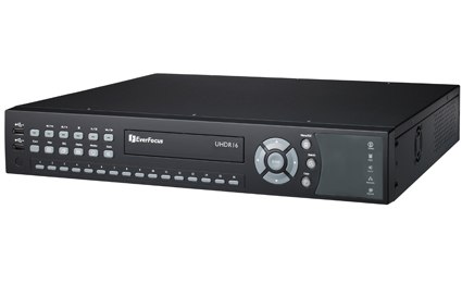 EverFocus unveils 16CH universal DVR for HD-SDI and analog video inputs