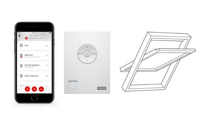 VELUX and Netatmo together presented smart automated control of roof windows and shutters at IFA 2017