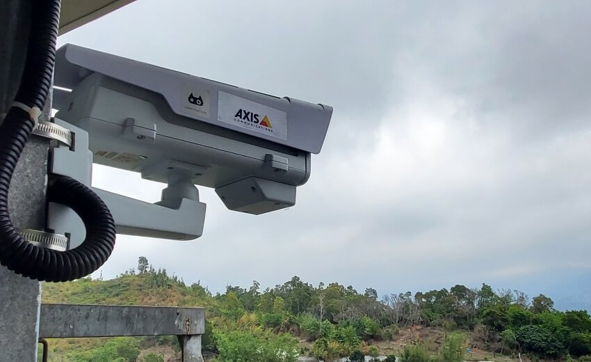 Axis Communications and Robotics Cats provide early wildfire detection to animal sanctuary