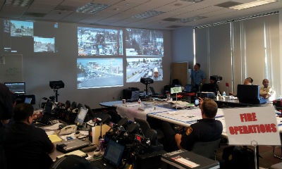 LAPD mobilizes Axis solution for NASA shuttle Endeavour's final trip