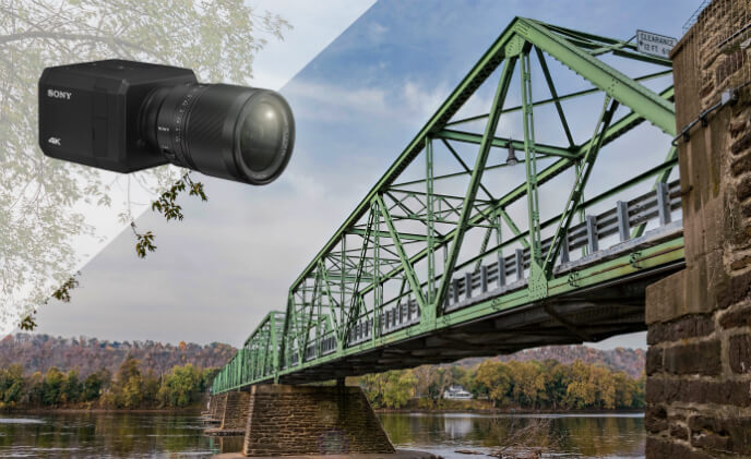 Sony 4K security cameras keep bridge crossings smoother and safer