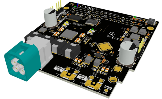 Avnet extends embedded vision capability with multi-camera FMC module