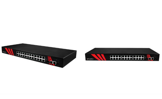 Antaira launches LNX-2602G-SFP series rack mount Gigabit 26-Port unmanaged switches