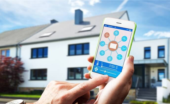 A smart home solution catering to both homeowners, developers