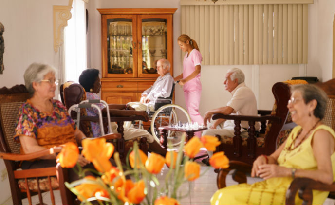 SMARTair brings simple operation and reliable access control to Geneva residential care home