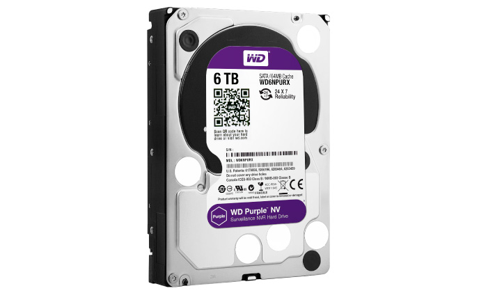 WD scales up surveillance-class hard drive line