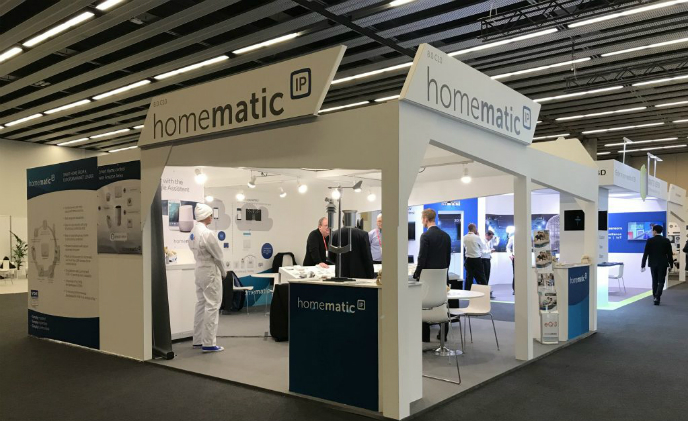 eQ-3 demos Homematic IP with voice commands at MWC 2018 Barcelona