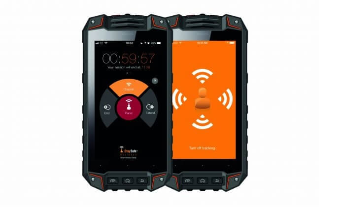 StaySafe available on intrinsically safe smartphones