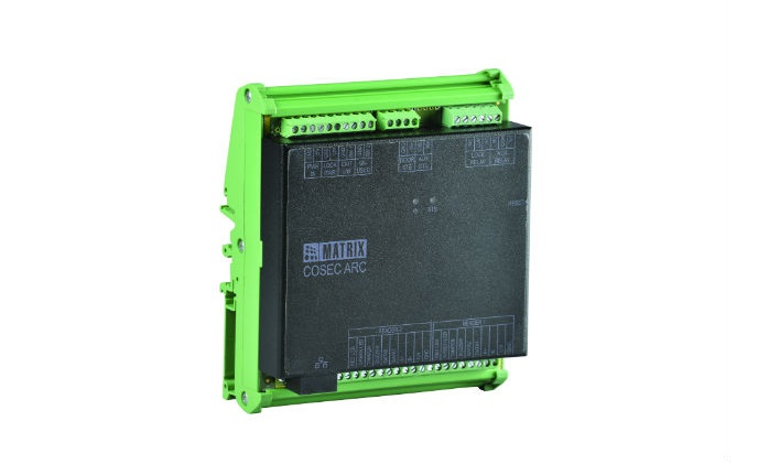 Matrix launches COSEC ARC DC 100P intelligent compact IP panel with PoE for single door