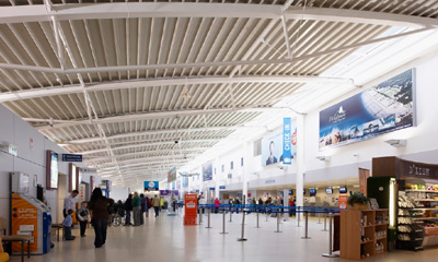 Tyco CEM Systems and ADT secure Inverness Airport