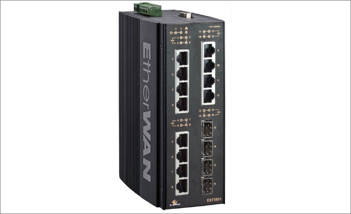 EtherWAN releases EX73900 series with lite layer 3 functions