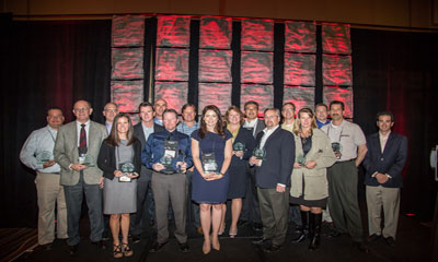 Milestone honored Outstanding Vendor by US SI cooperative PSA Security Network