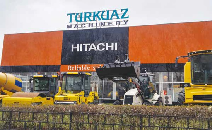 Monitoring of Turkuaz Machinery branches with Axis IP cameras