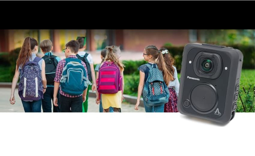 Panasonic i-PRO launches body worn cameras for campus security