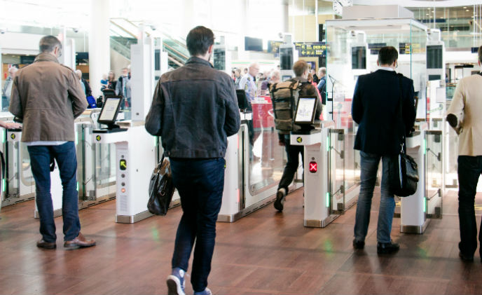 Vision-box automated border control solution at Copenhagen Airport