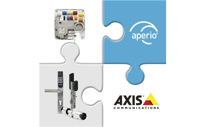 Integration brings Aperio access control to AXIS A1001 door controller