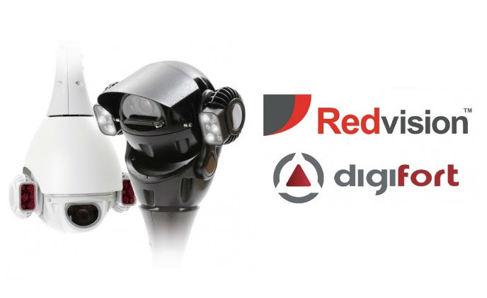 Redvision set analytics profiles on each RV30 dome preset, with Digifort VMS