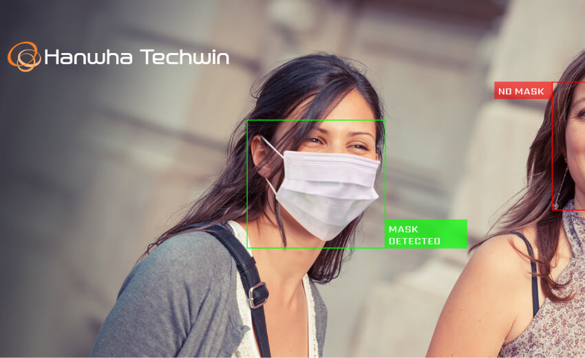 Hanwha Techwin introduces Face Mask Detection application