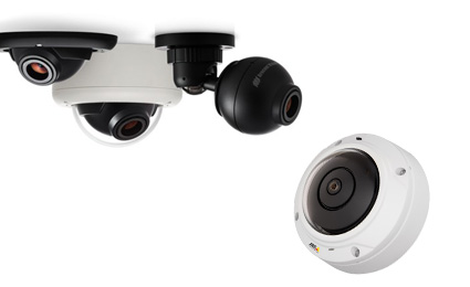 Norbain offers new panoramic cameras from Arecont Vision and Axis