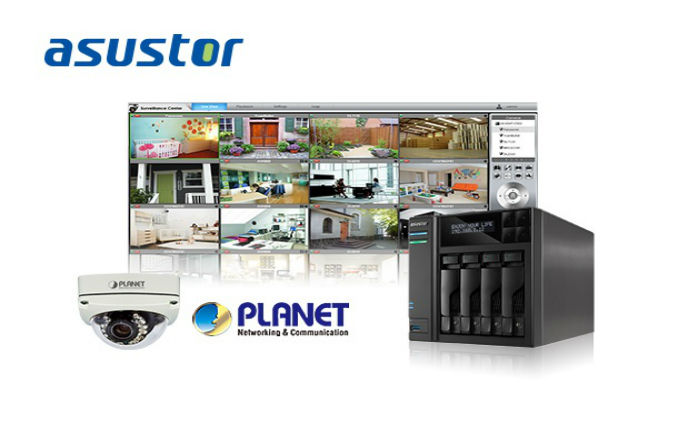 ASUSTOR collaborates with PLANET to create cloud surveillance solution