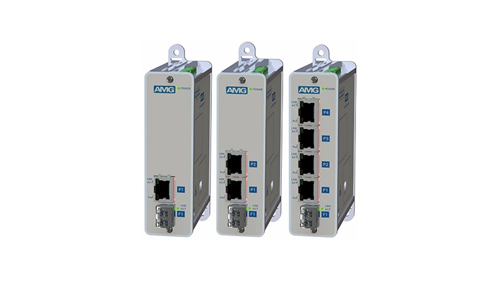 AMG Systems introduces new range of unmanaged and semi-managed Ethernet switches and media converters