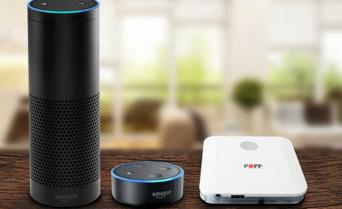 POPP integrates Amazon Alexa in its smart home hub and improves user interface