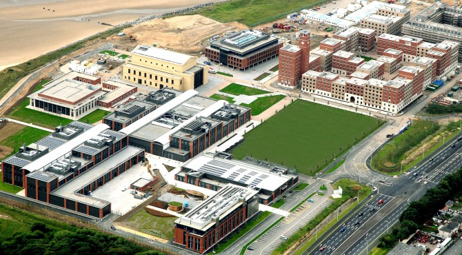 Salto smart access control secures Swansea University growth