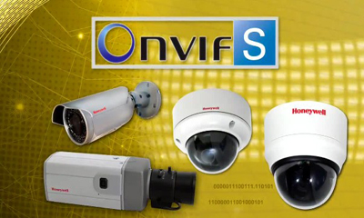 Honeywell IP cams now ONVIF Profile S compliant