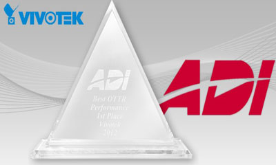 VIVOTEK receives Best Supplier Delivery Performance award from distributor ADI