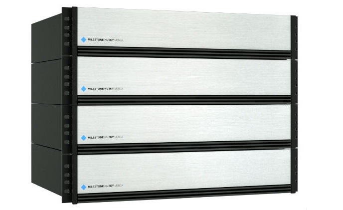 Milestone announces enterprise class Husky M550A NVR