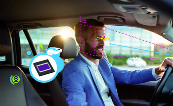 STMicroelectronics advanced image sensors to enhance driver monitoring