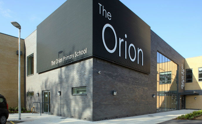 Amthal's gold star for security with the Orion Primary School