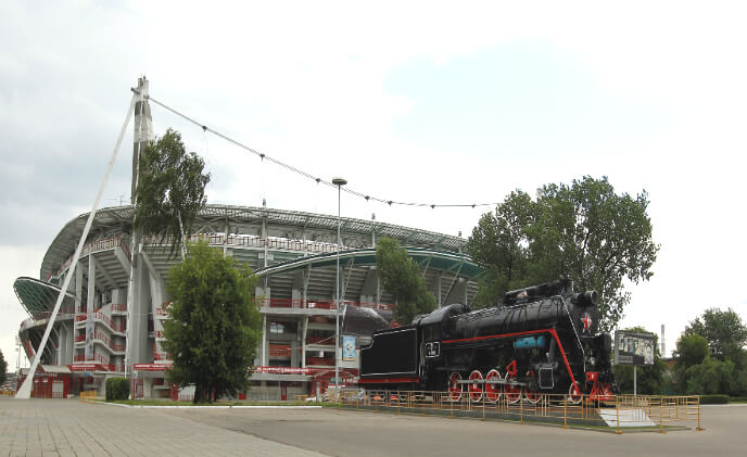 Dallmeier Panomera sensor system for Moscow's stadium