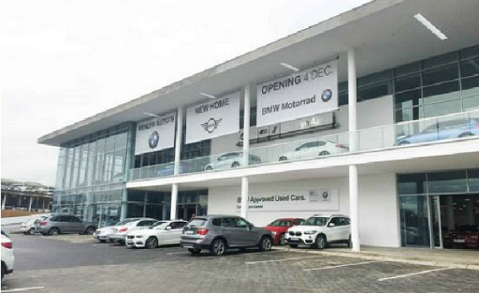 Uniview Technologies guards BMW Menlyn Auto in South Africa