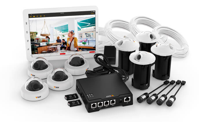 Axis offers 4-camera surveillance solution for retail and office market