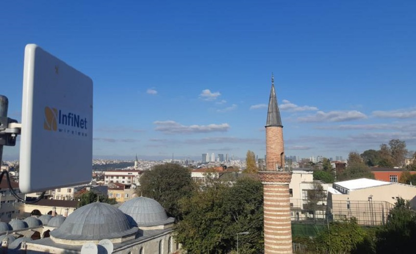 Infinet Wireless installs wireless network fit for future in historic Fatih, Istanbul