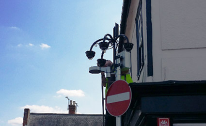 IDIS DirectIP deployed in Sawbridgeworth Town Council in the UK