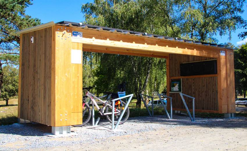 Wisenet video surveillance systems helping to protect E-BikePort charging stations