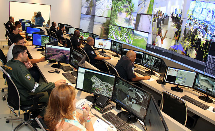 Digifort and Praia Grande inaugurate integrated control center