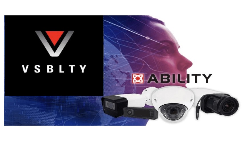 VSBLTY & ABILITY Enterprise solution to run directly on AI-enabled camera