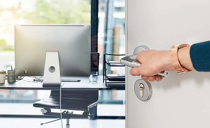 Code Handle protects private rooms from public access